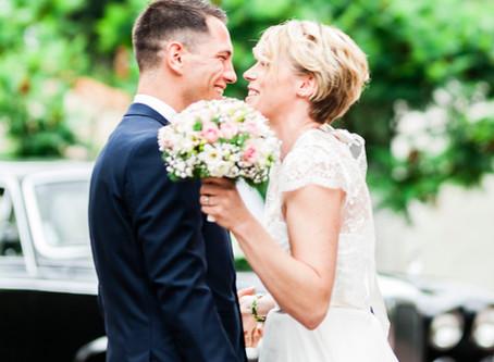 Reportage photos mariage - V & E au Château de Cop Choux à Nantes