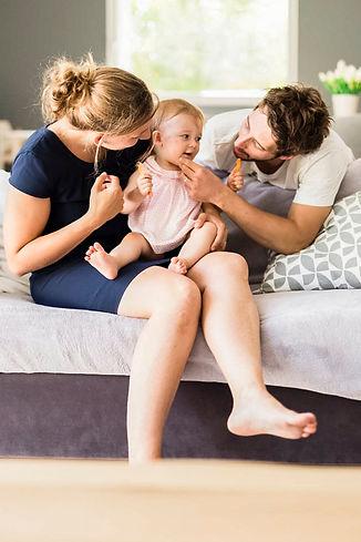 séance photo de famille à domicile - la chevrolière - orlane boisard photographe