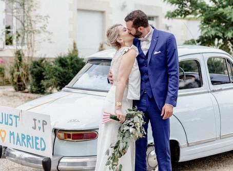 Reportage photo - mariage J & P au Domaine de la Pinelais à Pornic