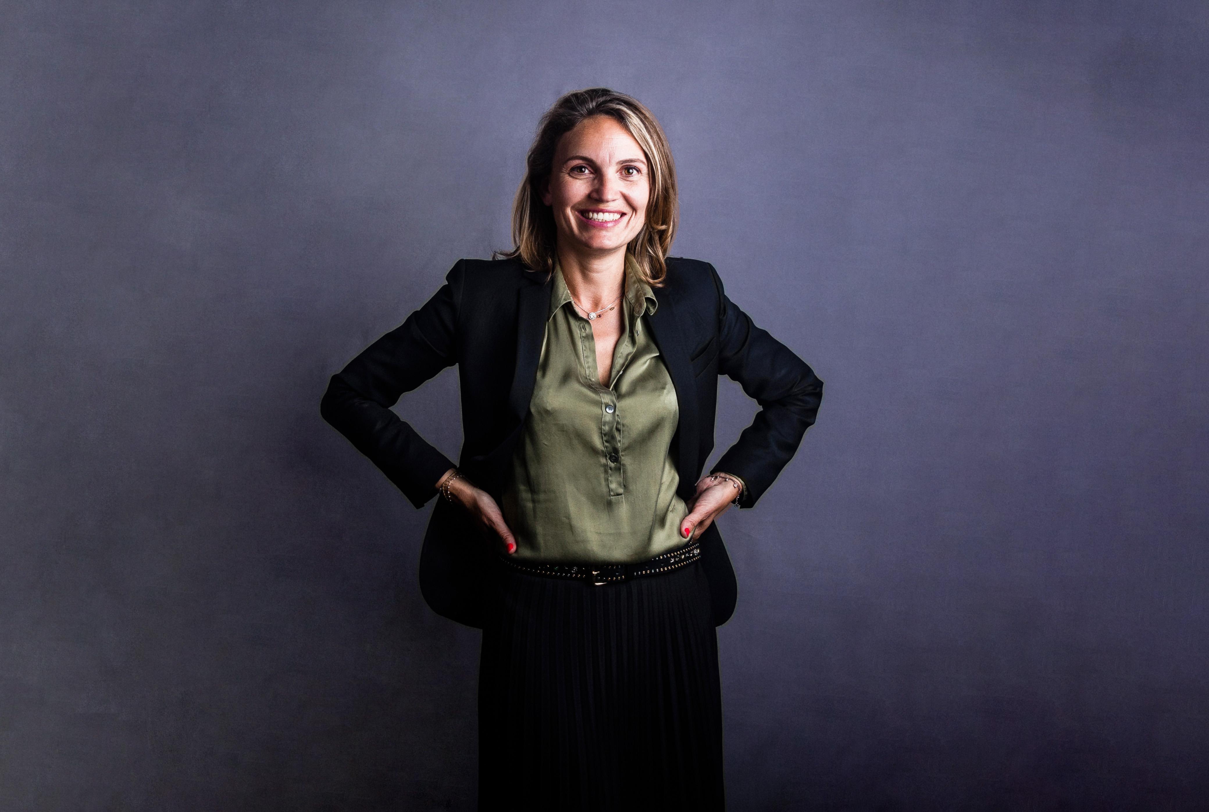 Portrait professionnel au homestudio