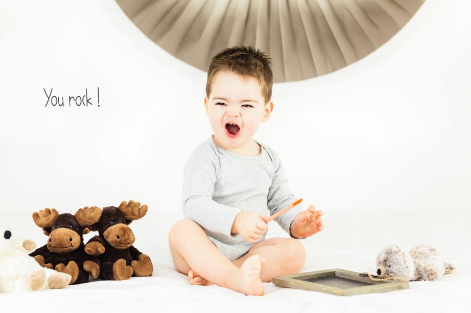 Portrait bébé naissance garçon nantes
