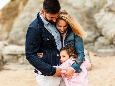 La jolie séance de Céline et sa famille