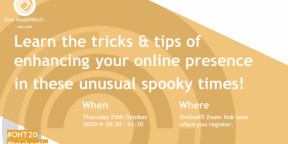 One HealthTech Ireland Trick or Tip?