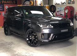Complete black out on a 2019 Range Rover