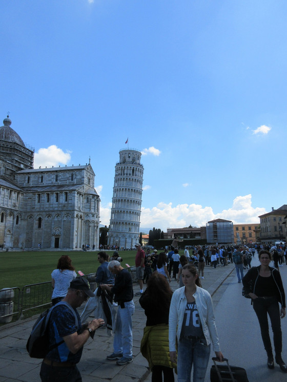 Port of Livorno and Pisa for the tower.