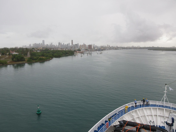 At Sea En Route to Salvador, Brasil & Natal Yesterday.