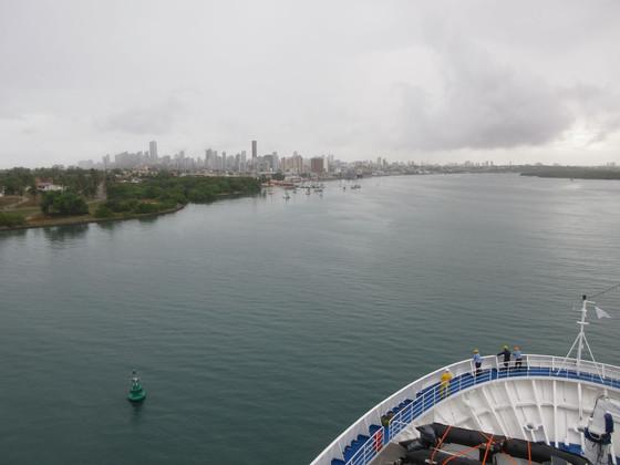 At Sea En Route to Salvador, Brasil & Natal Yesterday.