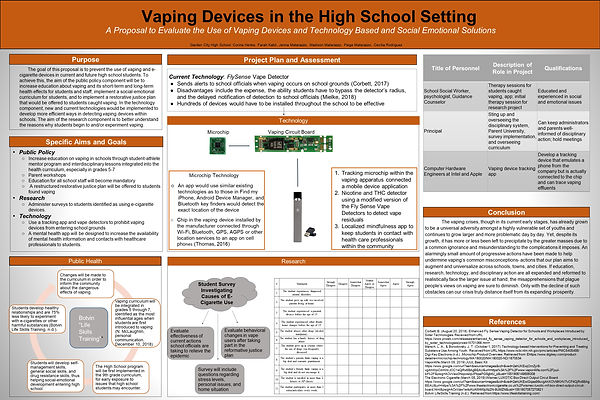 Medical Marvels Vaping Presentation GCFS