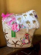 Lilly Pulitzer Gift Basket