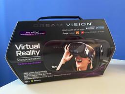 VR headset from Burns Family