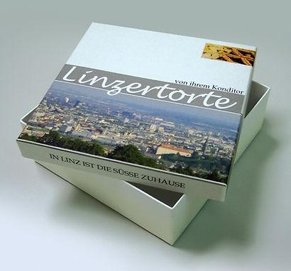 Linzer Torte Producktverpackung