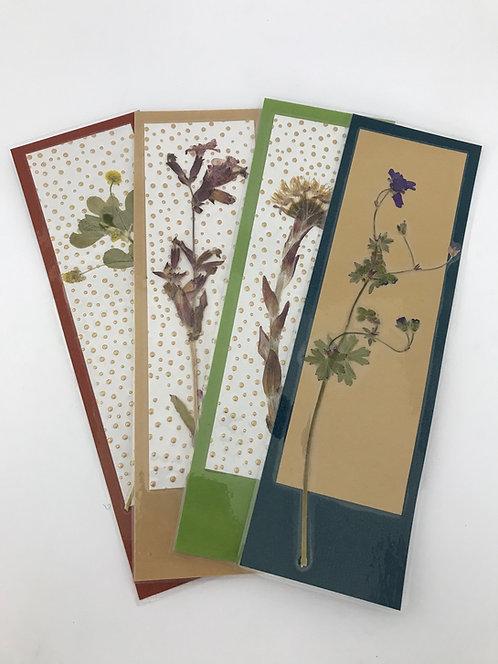 Blumen Lesezeichen