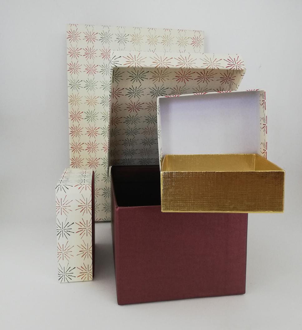 Kaschierte Schachteln