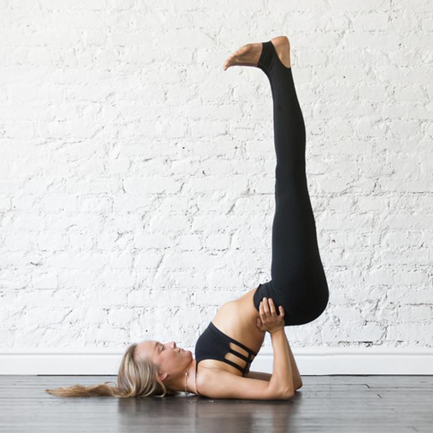 Clase de Yoga Suave: Libera Hombros y Cuello