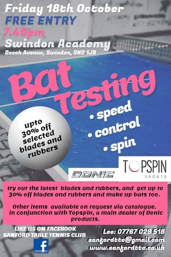 BAT TESTNG EVENT