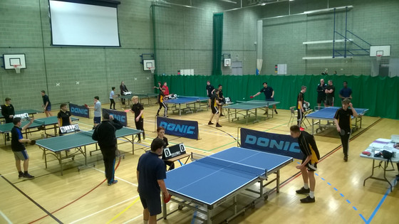WILTSHIRE SCHOOL TABLE TENNIS GAMES COMING TO SWINDON ACADEMY FOR THIRD TIME.