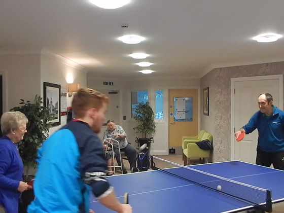 GETTING ACTIVE WITH RESIDENTS AT SWINDON HOME AND LIVING