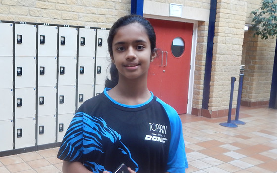 NITYA MAINTAINS HER 100% RECORD AT COUNTY LEVEL