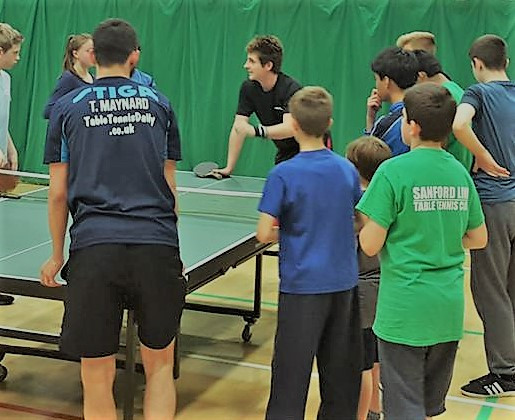 WILTSHIRE  CLOSED TABLE TENNIS CHAMPIONSHIP AT MALTRAVERS SCHOOL WESTBURY