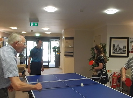 SOME ACTION  AT FITZWARREN HOUSE
