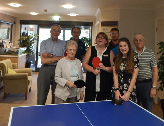SWINDON LIVE AT HOME TABLE TENNIS SESSION