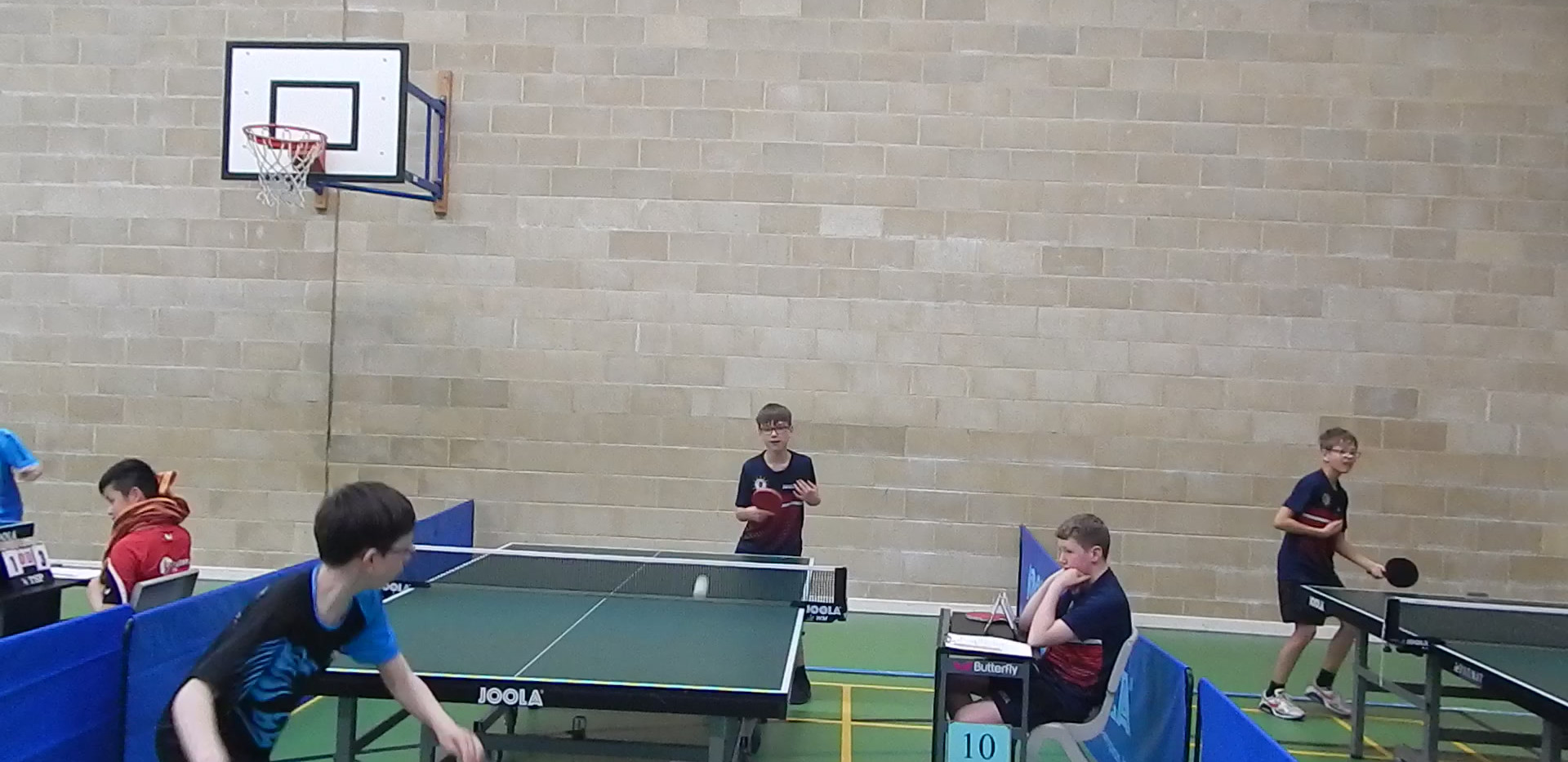 Finlay in action for Sanford B on Day 3