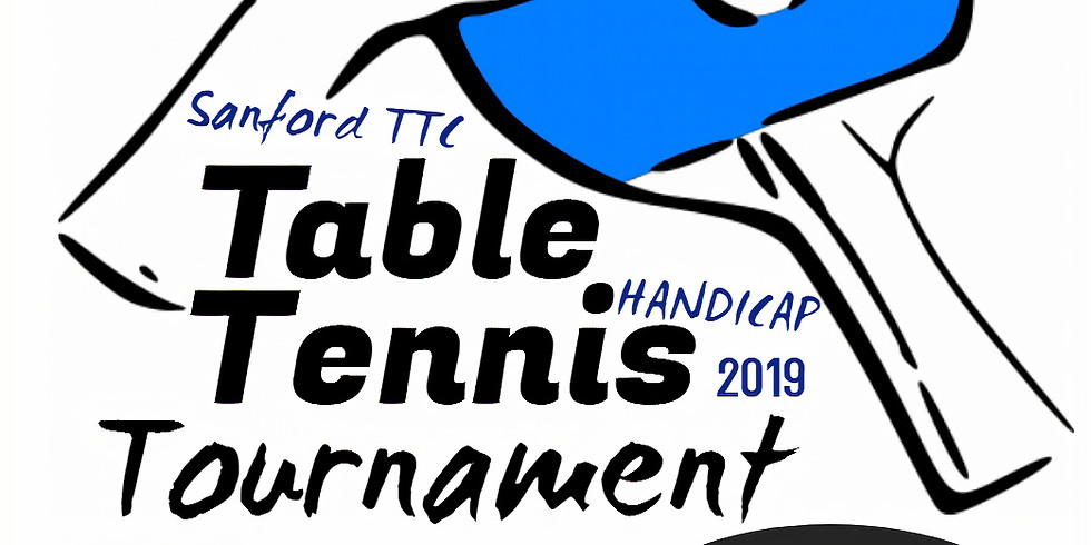 Sanford Table Tennis Handicap Tournament 2019