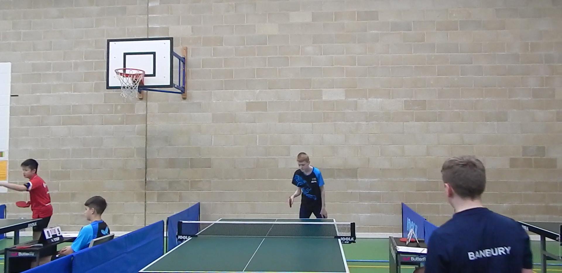 Sam in action for Sanford B on Day 3