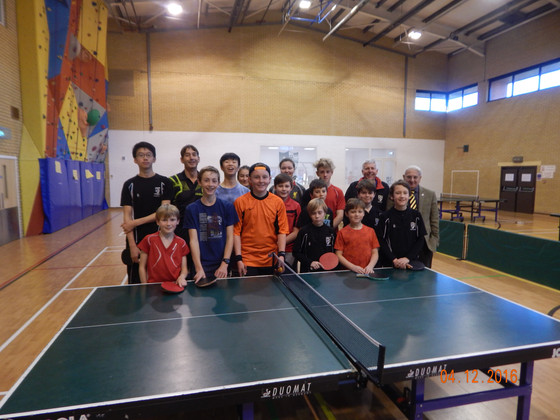 SWINDON ACADEMY TABLE TENNIS SESSION