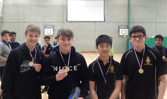 RWBS AND LAWN MANOR DOMINATE THE SCHOOL TABLE TENNIS GAMES