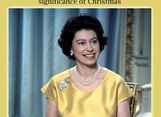 The Queen's Christmas Message: Queen Elizabeth II describes the Significance of Christmas