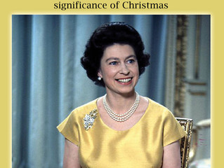 The Queen's Christmas Message: Queen Elizabeth II describes the Significance of Christmas