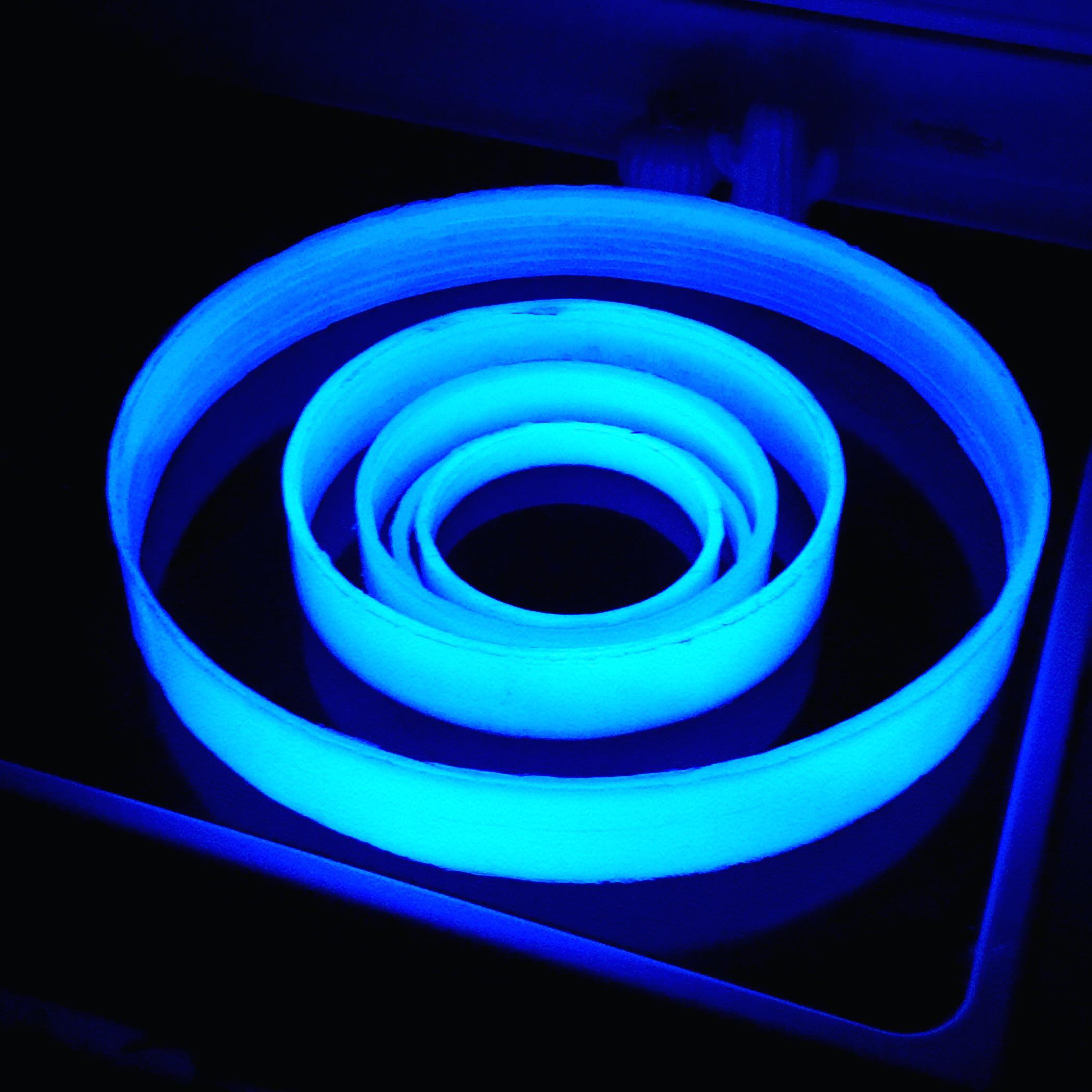 resin glow testing