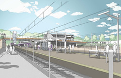 Lyttonsville Station_view 01