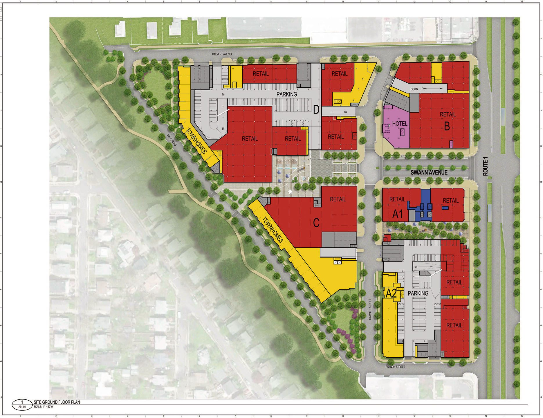 Oakville Triangle Conceptual Plan