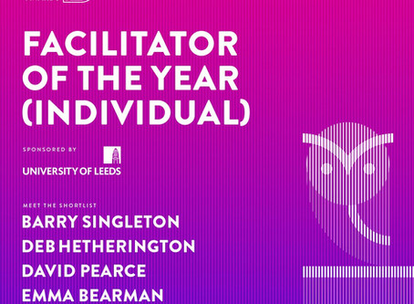 Award Nomination - Facilitator of the Year