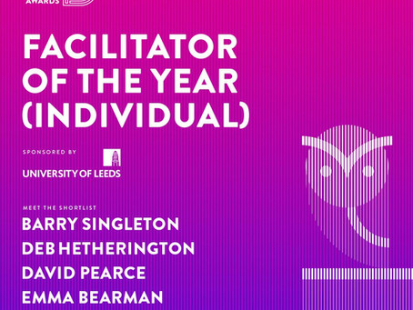 Award Nomination - Facilitator of the Year