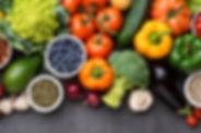 berries-avocado-onions-broccoli-mushroom