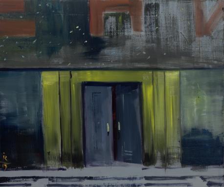 Сквознячок, 2015 холст/ масло, 50 x 60