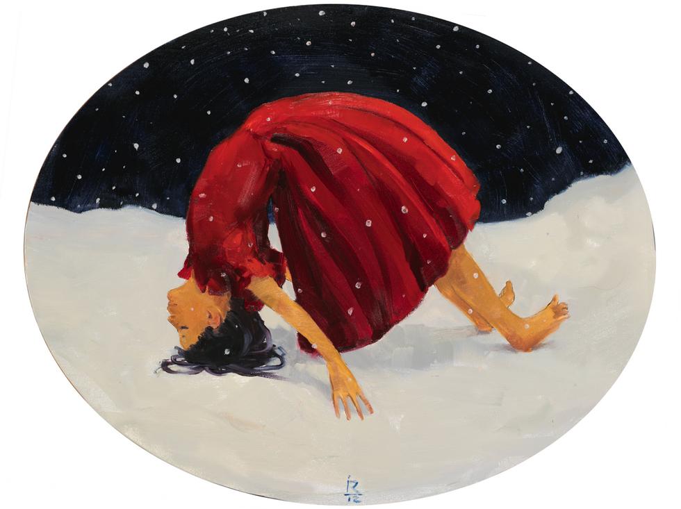 Лена, 2015 холст/масло, 40 x 50