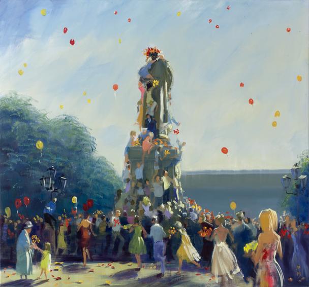 День Рождения Пушкина, 2015 Холст, масло 140 x 150 см