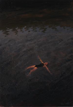 Big Fish из серии «Сделано на карантине», 2020 холст/масло, 80 x 55