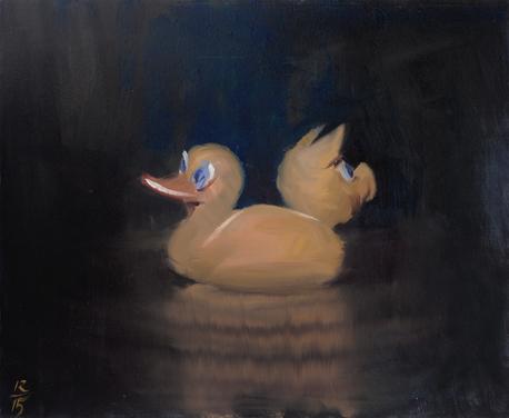 Сувенир, 2015 холст/масло, 50 x 60