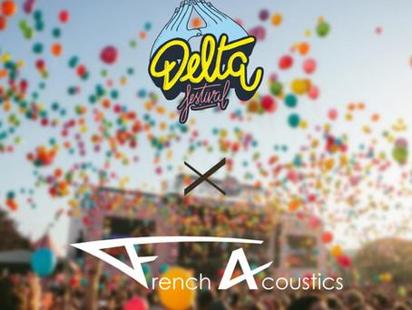 Nous serons au Delta Festival !
