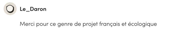 Avis Ulule  Le Daron