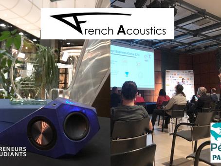 French Acoustics Dauphin du Pépite Paca Est, prix BPI France !