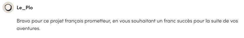 Avis Ulule  Le Plo