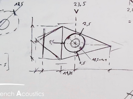 Tout est parti d'un dessin il y a un an pour French Acoustics