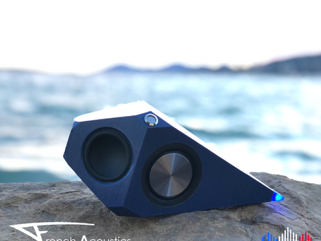 Découvrez Proton, l'enceinte ultra portable, ecofriendly et made in France !