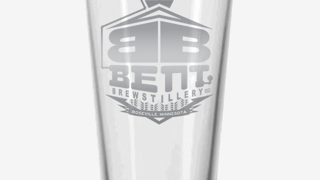 Bent Logo Pint Glass